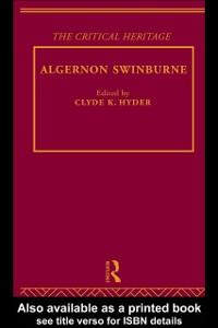 Ebook in inglese Algernon Swinburne -, -