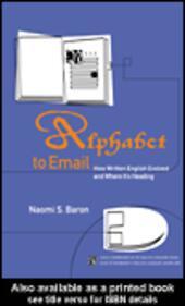 Alphabet to Email