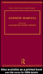 Ebook in inglese Andrew Marvell
