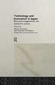 Ebook in inglese Technology and Innovation in Japan -, -