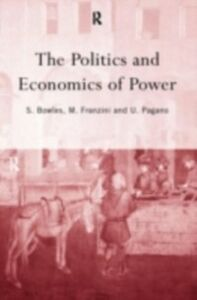 Foto Cover di Politics and Economics of Power, Ebook inglese di  edito da Taylor and Francis