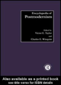 Ebook in inglese Encyclopedia of Postmodernism