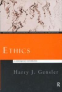 Ebook in inglese Ethics Gensler, Harry J.