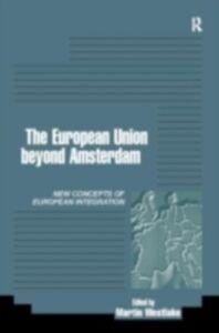 Foto Cover di EU Beyond Amsterdam, Ebook inglese di  edito da Taylor and Francis