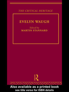 Ebook in inglese Evelyn Waugh