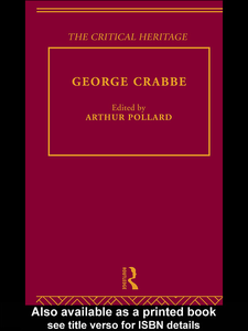 Ebook in inglese George Crabbe