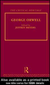 Foto Cover di George Orwell, Ebook inglese di Jeffrey Meyers, edito da