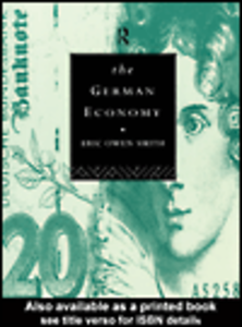 Ebook in inglese The German Economy