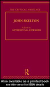Ebook in inglese John Skelton