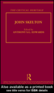 Ebook in inglese John Skelton