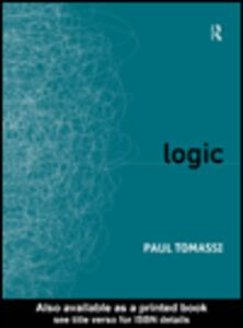 Ebook in inglese Logic Tomassi, Paul