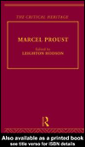Ebook in inglese Marcel Proust