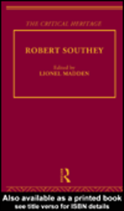 Ebook in inglese Robert Southey