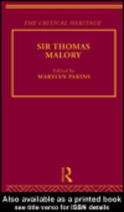 Ebook in inglese Sir Thomas Malory