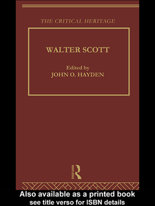 Ebook in inglese Walter Scott