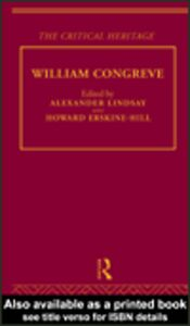 Ebook in inglese William Congreve
