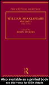 Ebook in inglese William Shakespeare