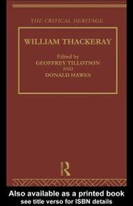 Ebook in inglese William Thackeray -, -