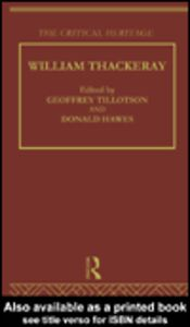 Ebook in inglese William Thackeray