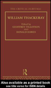 Ebook in inglese William Thackeray