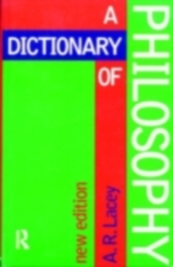 Ebook in inglese Dictionary of Philosophy Lacey, Alan
