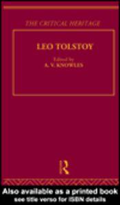Foto Cover di Count Leo Nikolaevich Tolstoy: The Critical Heritage, Ebook inglese di A. V. Knowles, edito da