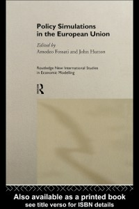 Ebook in inglese Policy Simulations in the European Union -, -