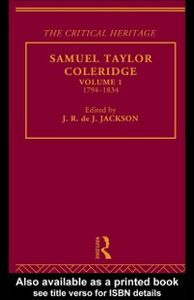 Ebook in inglese Samuel Taylor Coleridge -, -