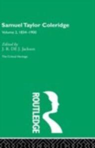 Foto Cover di Samuel Taylor Coleridge, Ebook inglese di  edito da Taylor and Francis
