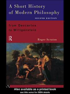 Ebook in inglese A Short History of Modern Philosophy Scruton, Roger