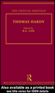 Ebook in inglese Thomas Hardy
