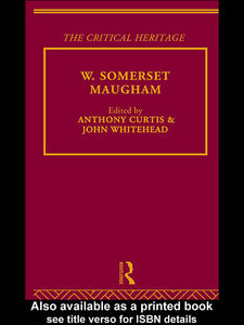 Ebook in inglese W. Somerset Maugham