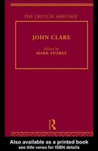 Ebook in inglese John Clare