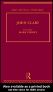 Ebook in inglese John Clare