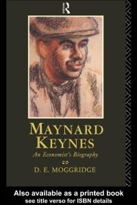 Ebook in inglese Maynard Keynes Moggridge, Donald