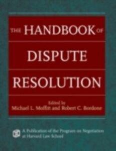 Ebook in inglese Handbook of Dispute Resolution