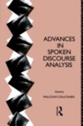 Advances in Spoken Discourse Analysis