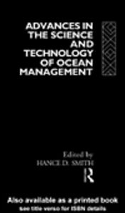 Ebook in inglese Advances in the Science and Technology of Ocean Management Smith, Hance D.