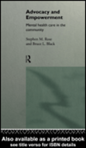 Ebook in inglese Advocacy and Empowerment Black, Bruce L. , Rose, Stephen M.