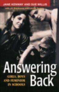 Foto Cover di Answering Back, Ebook inglese di AA.VV edito da Taylor and Francis