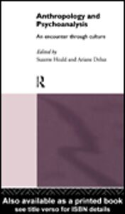 Ebook in inglese Anthropology and Psychoanalysis