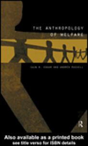 Ebook in inglese The Anthropology of Welfare