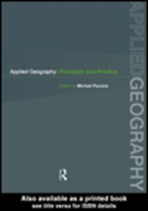 Ebook in inglese Applied Geography