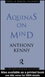 Ebook in inglese Aquinas on Mind Kenny, Anthony
