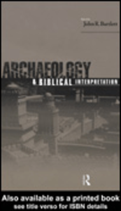 Ebook in inglese Archaeology and Biblical Interpretation
