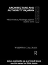 Architecture and Authority in Japan