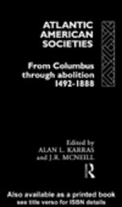 Ebook in inglese Atlantic American Societies