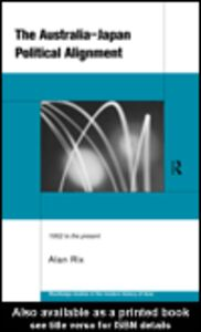 Ebook in inglese The Australia-Japan Political Alignment Rix, Alan
