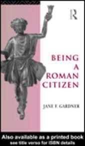 Being a Roman Citizen