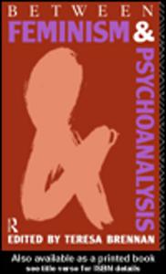 Ebook in inglese Between Feminism and Psychoanalysis